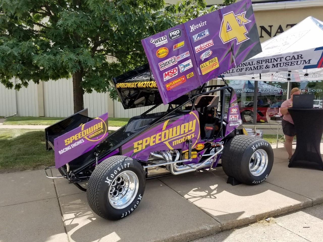 National Sprint Car Hall of Fame & Museum Raffle Car Makes Last Midwest Appearances This Weekend!